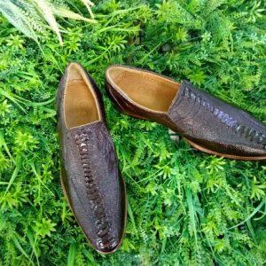 Giày Lười Da Đà Điểu Nam Nhập Khẩu Giá Rẻ HCM