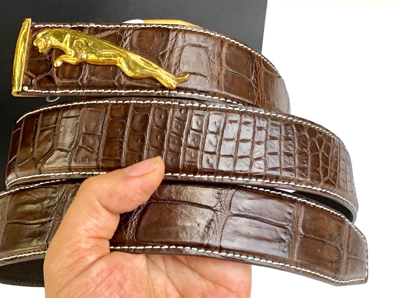 Những chú ý khi mua thắt lưng da cá sấu