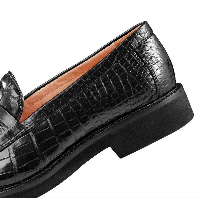 Giày tây da cá sâu cao cấp olagood