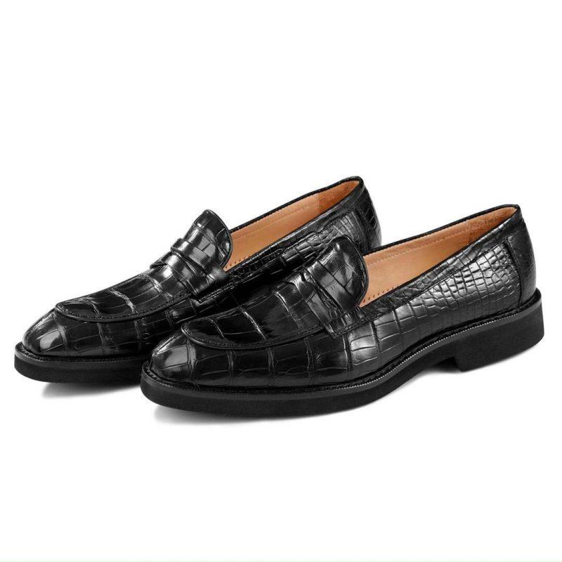 Giày tây nam da cá sấu
