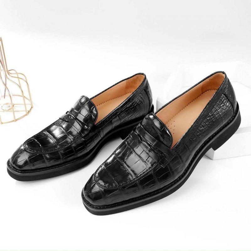 <em>Giày tây da cá sấu cao cấp</em>