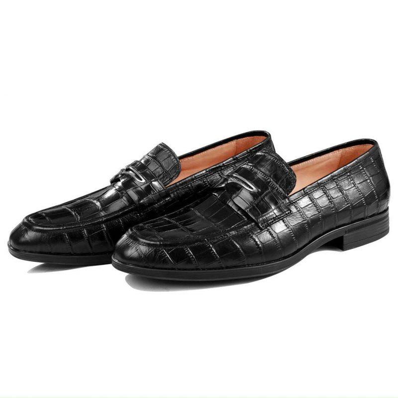 <em>Giày tây da cá sấu cao cấp olagood</em>