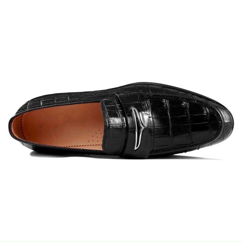Giày tây da cá sấu nam cao cấp