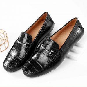 Giày Lười Nam Da Cá Sấu Chính Hãng Giá Rẻ Tphcm
