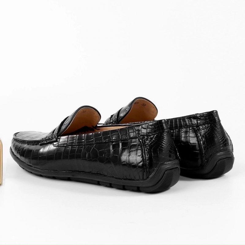 Giày lười da cá sấu cao cấp olagood