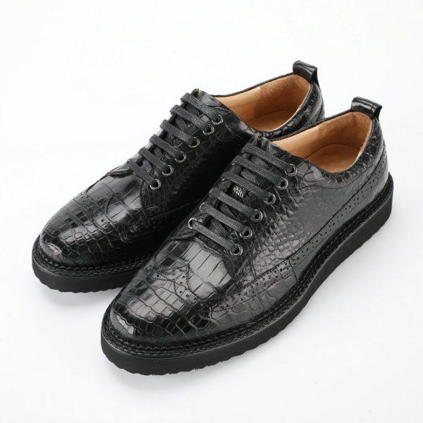 giày thể thao da cá sấu nam cao cấp chính hãng