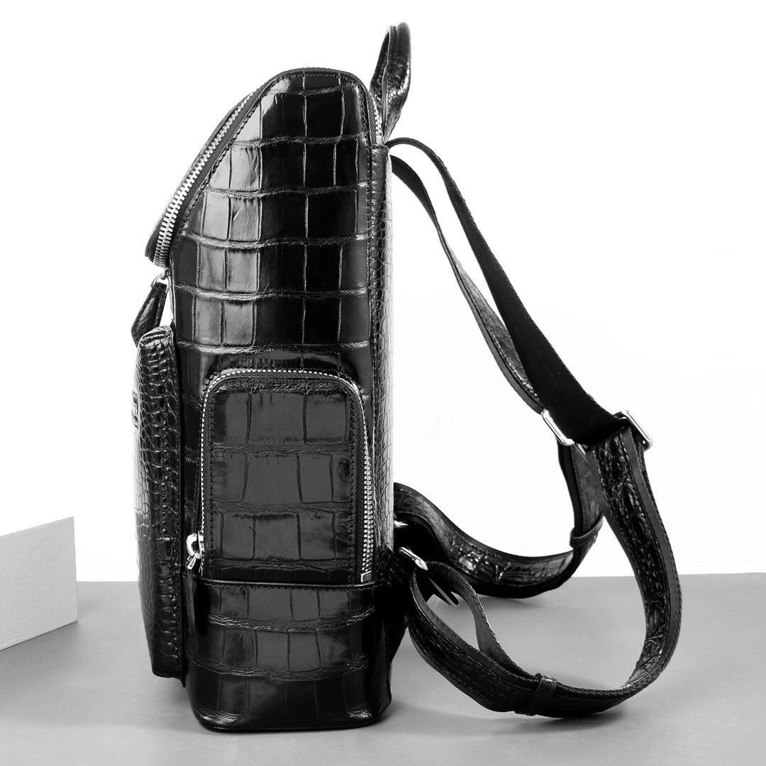 Balo nam da cá sấu - BLN011S giá rẻ phong cách