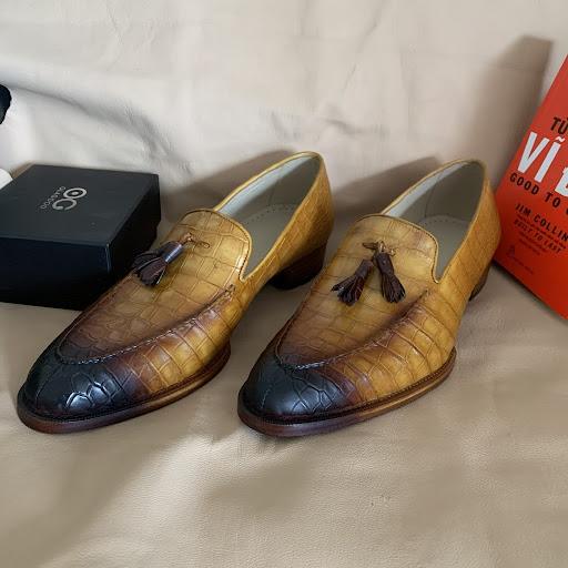 cách bảo quản giày da không bị nổ