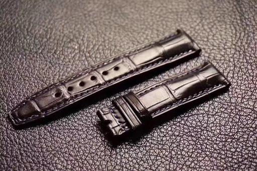 dây đồng hồ da cá sấu thật chính hãng giá rẻ tp.hcm